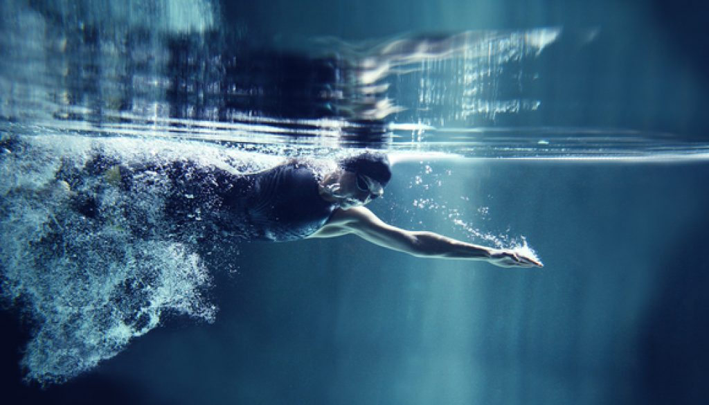 swimming is healthy